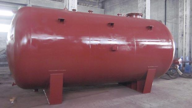 产品名称怎奈何:卧式钢衬塑储罐